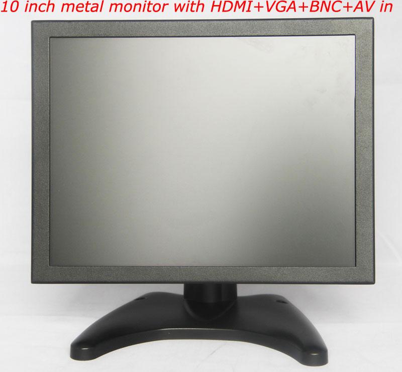 10 inch metal monitor