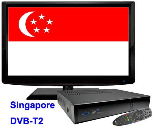 Singapore DVB-T2