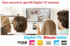 VCAN1092 Car ISDB-T Philippines Digital TV Receiver black box MPEG4 HDMI USB PVR Remote 11