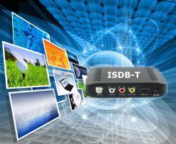 VCAN1092 Car ISDB-T Philippines Digital TV Receiver black box MPEG4 HDMI USB PVR Remote 10