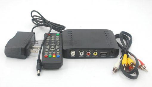 VCAN1092 Car ISDB-T Philippines Digital TV Receiver black box MPEG4 HDMI USB PVR Remote 4