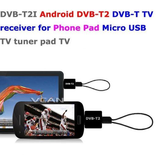 DVB-T2I Android DVB-T2 DVB-T TV receiver for Phone Pad Micro USB TV tuner apk 1