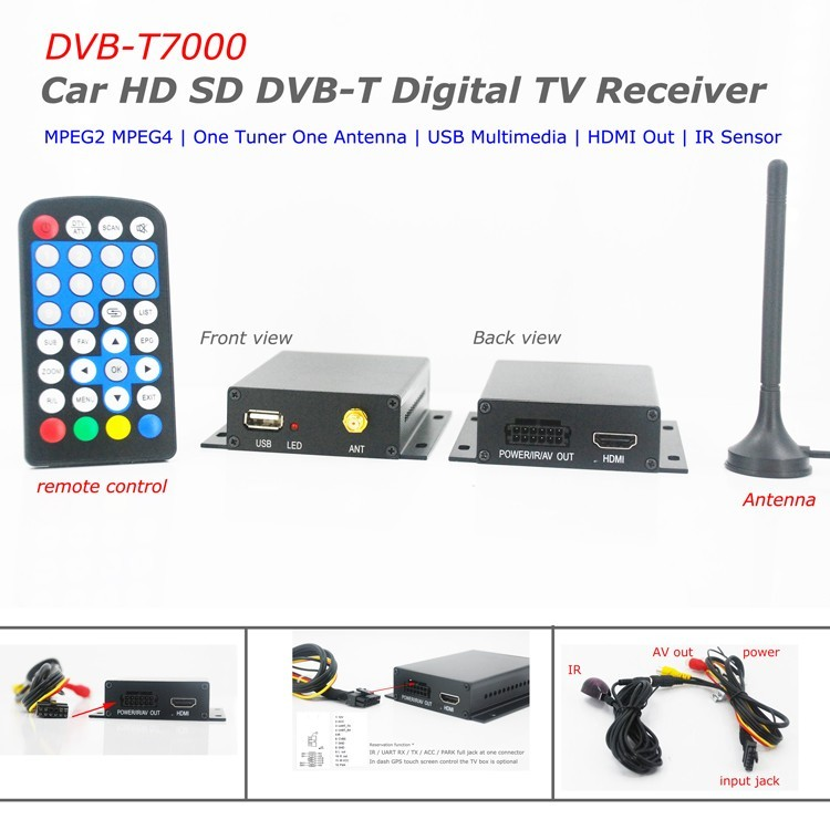 one tuner one antenna car dvb-t