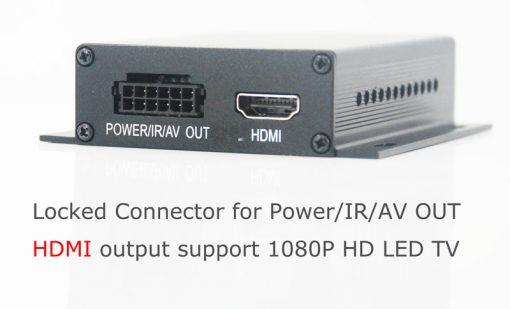 One tuner One antenna car DVB-T tv receiver MPEG4 DVB-T7000 2