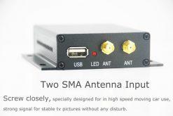 Car DVB-T TV receiver box diversity 2 antenna MPEG4 H.264 STB dvb-t7200 9