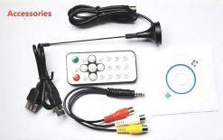 VCAN1090 USB Digital DVB-T2 DVB-T TV Analog TV DVB-C FM DAB TV stick PC use 9