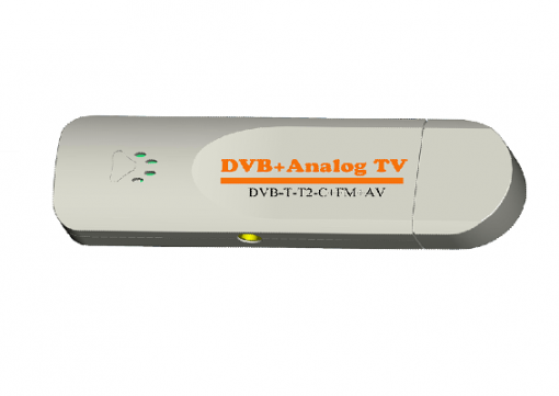 VCAN1090 USB Digital DVB-T2 DVB-T TV Analog TV DVB-C FM DAB TV stick PC use 1