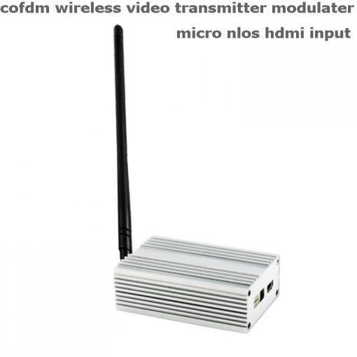 Cofdm wireless video transmitter modulator uav micro hdmi nols module HD-sdi receiver COFDM-901T 1