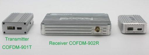 Cofdm wireless video transmitter modulator uav micro hdmi nols module HD-sdi receiver COFDM-901T 2