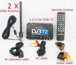 Germany DVB-T2 H.265 HEVC Codec New Model DVB-T265 auto mobile digital car dvb-t2 tv receiver 11