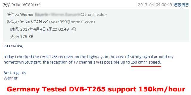 Car DVB-T2 H265 HEVC Codec Digital TV Receiver Auto Mobile Germany Standard 2 antenna H264 HD for all dvb country 24