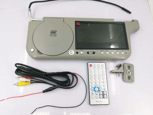 7 inch sun visor DVD player sunvisor left right side USB SD movie player black grey beige factory promotion TM-6686 7010 15
