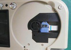 7 inch sun visor DVD player sunvisor left right side USB SD movie player black grey beige factory promotion TM-6686 7010 24
