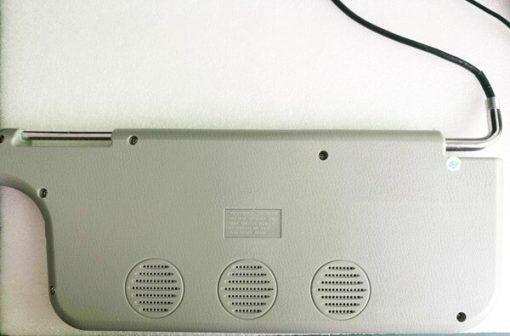 7 inch sun visor DVD player sunvisor left right side USB SD movie player black grey beige factory promotion TM-6686 7010 5
