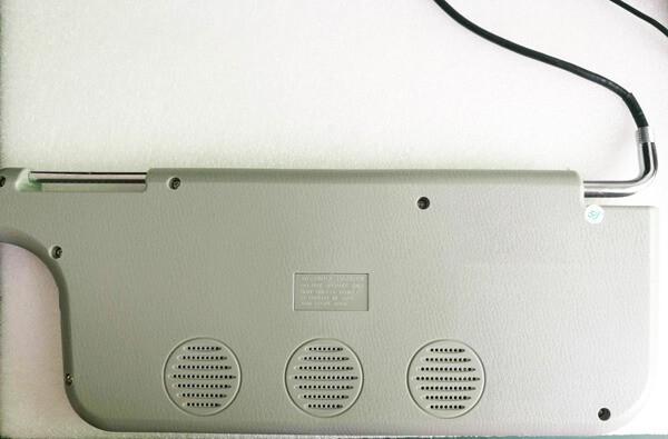 7 inch sun visor DVD player sunvisor left right side USB SD movie player black grey beige factory promotion TM-6686 7010 44