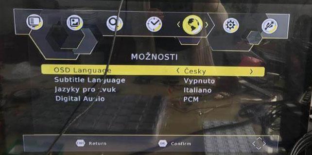 Czech Car DVB-T2