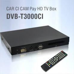 DVB-T3000CI HD Car DVB-T CI CAM card reader auto digital tv Slot DTV Europe TNT TDT CA 9