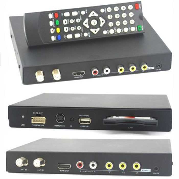 DVB-T3000CI HD Car DVB-T CI CAM card reader auto digital tv Slot DTV Europe TNT TDT CA 14