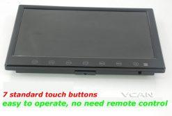 9 inch isdb-t full seg digital tv b-cas One tuner antenna FM transmitter ISDB-T9 7