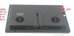 9 inch isdb-t full seg digital tv b-cas One tuner antenna FM transmitter ISDB-T9 9