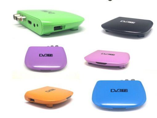 DVB-T2M8 Mini HD DVB-T2 Home H.264 Set Top Box with USB support PVR /Multi-language 3
