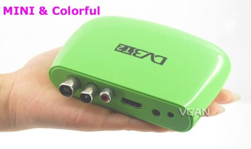 DVB-T2M8 Mini HD DVB-T2 Home H.264 Set Top Box with USB support PVR /Multi-language 2