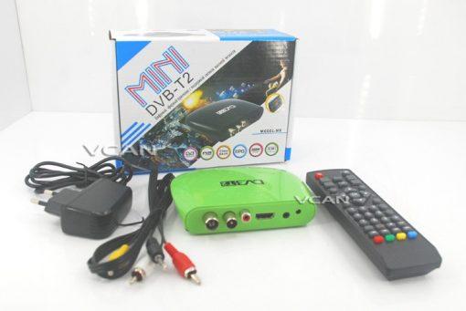 DVB-T2M8 Mini HD DVB-T2 Home H.264 Set Top Box with USB support PVR /Multi-language 1