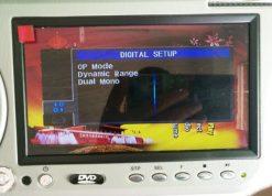 7 inch sun visor DVD player sunvisor left right side USB SD movie player black grey beige factory promotion TM-6686 7010 19