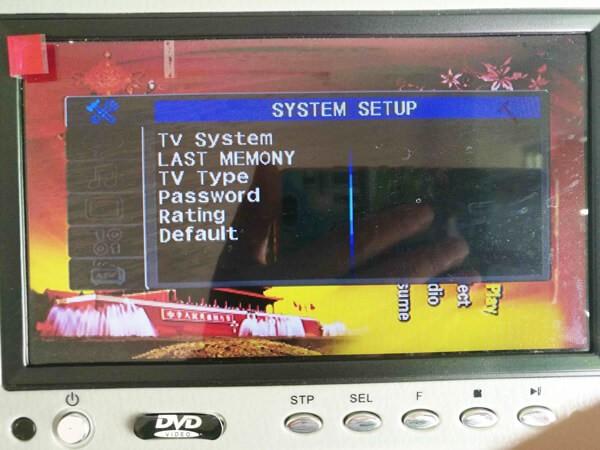 7 inch sun visor DVD player sunvisor left right side USB SD movie player black grey beige factory promotion TM-6686 7010 42