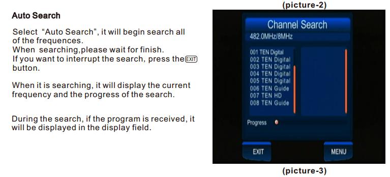 ATSC Car TV Digital receiver for USA Canada Mexico ATSC-201 2