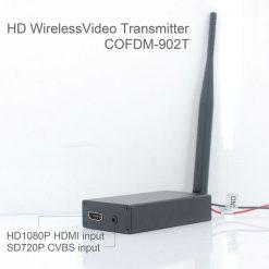 COFDM-902T COFDM HD Wireless composite Video Transmitter 1080P CVBS SD 720P 6