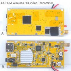 COFDM-902T COFDM HD Wireless composite Video Transmitter 1080P CVBS SD 720P 7