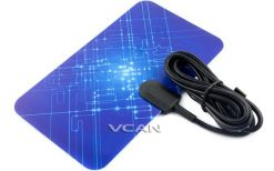 VCAN0992 Digital TV DVB-T2 UHF/VHF Flat antenna and No extra power required for home use 7