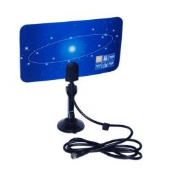 VCAN0992 Digital TV DVB-T2 UHF/VHF Flat antenna and No extra power required for home use 11
