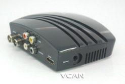 VCAN1076 HD mini Home DVB-T2 Digital TV Receiver H.264 black box MPEG4 USB PVR 8