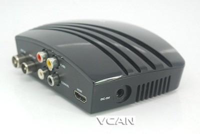 VCAN1076 HD mini Home DVB-T2 Digital TV Receiver H.264 black box MPEG4 USB PVR 4