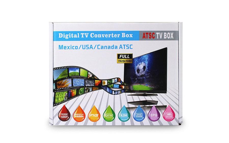 Mexico ATSC TV Receiver Digital TV MPEG4 HDMI USB PVR VCAN1078 for USA Canada 14