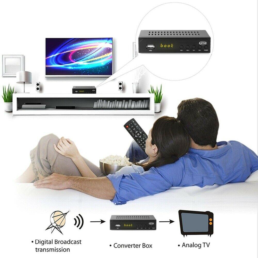 Mexico ATSC TV Receiver Digital TV MPEG4 HDMI USB PVR VCAN1078 for USA Canada 18