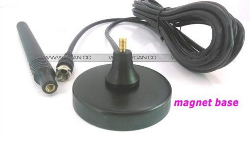 ISDB-T DVB-T2 ATSC Digital TV Antenna with magnet base aerial with signal enlarger MHZ860 Vcan1065 SMA F type IEC MCX 3