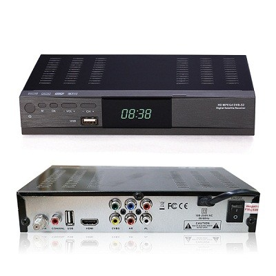 VCAN1025 Home use receiver with Support MPEG4/MPEG2 HD/SD,DVB-S2/DVB-S 1