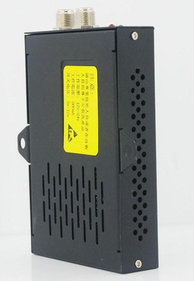 Car DVB-T 2 Antenna TV receiver VCAN1062 HD Digital TV tuner Box support MPEG4 H.264 2