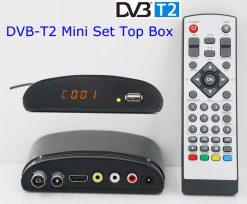DVB-T2 mini Digital TV receiver 8
