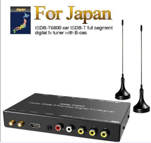 Japan car ISDB-T full with 1 seg digital tv tuner B-CAS 1