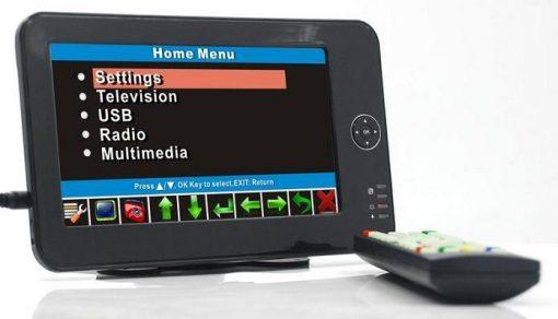 7 inch handheld HD wireless COFDM receiver portable 1