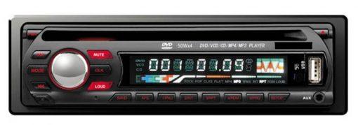 DVCD CD MP3 MP4 USB compatible player Car radio 1