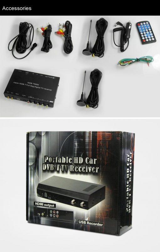 Japan car ISDB-T full with 1 seg digital tv tuner B-CAS 11
