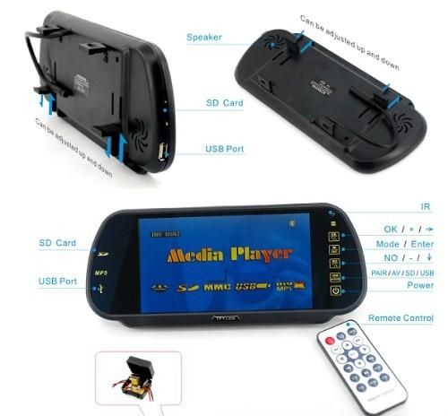 VCAN1339 2.5 inch Full HD Car DVR Camera 1080p In Car Dash Video Camera 23