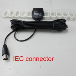 Digital TV DVB-T antenna aerial built-in signal enlarger booster 8