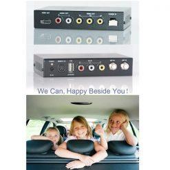 DVB-T2100HD Car DVB-T MPEG4 H.264 2 tuner Digital TV receiver 2 tuner 2 antenna 11