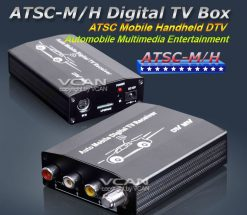 U.S.A auto mobile digital car TV receive box ATSC-MH2012 7